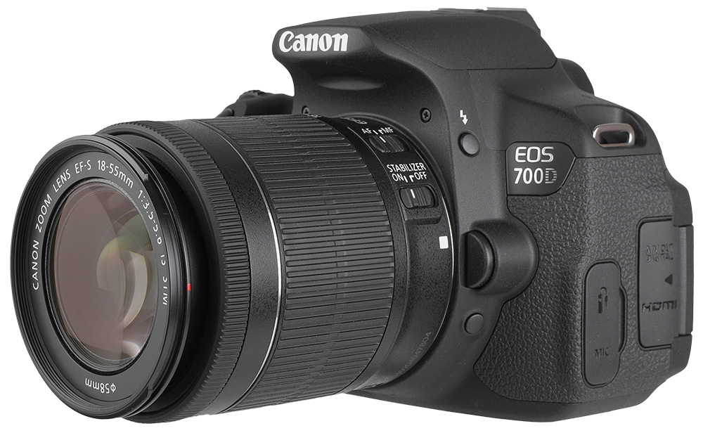 canon eos 700d digital slr camera ef s 18 55 is stm lens. Black Bedroom Furniture Sets. Home Design Ideas