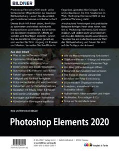 Photoshop Elements 2020: Buchrücken