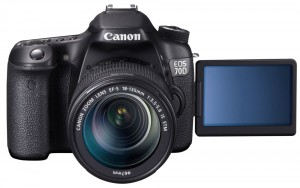 Canon EOS 70D mit 18-135mm IS STM-Objektiv