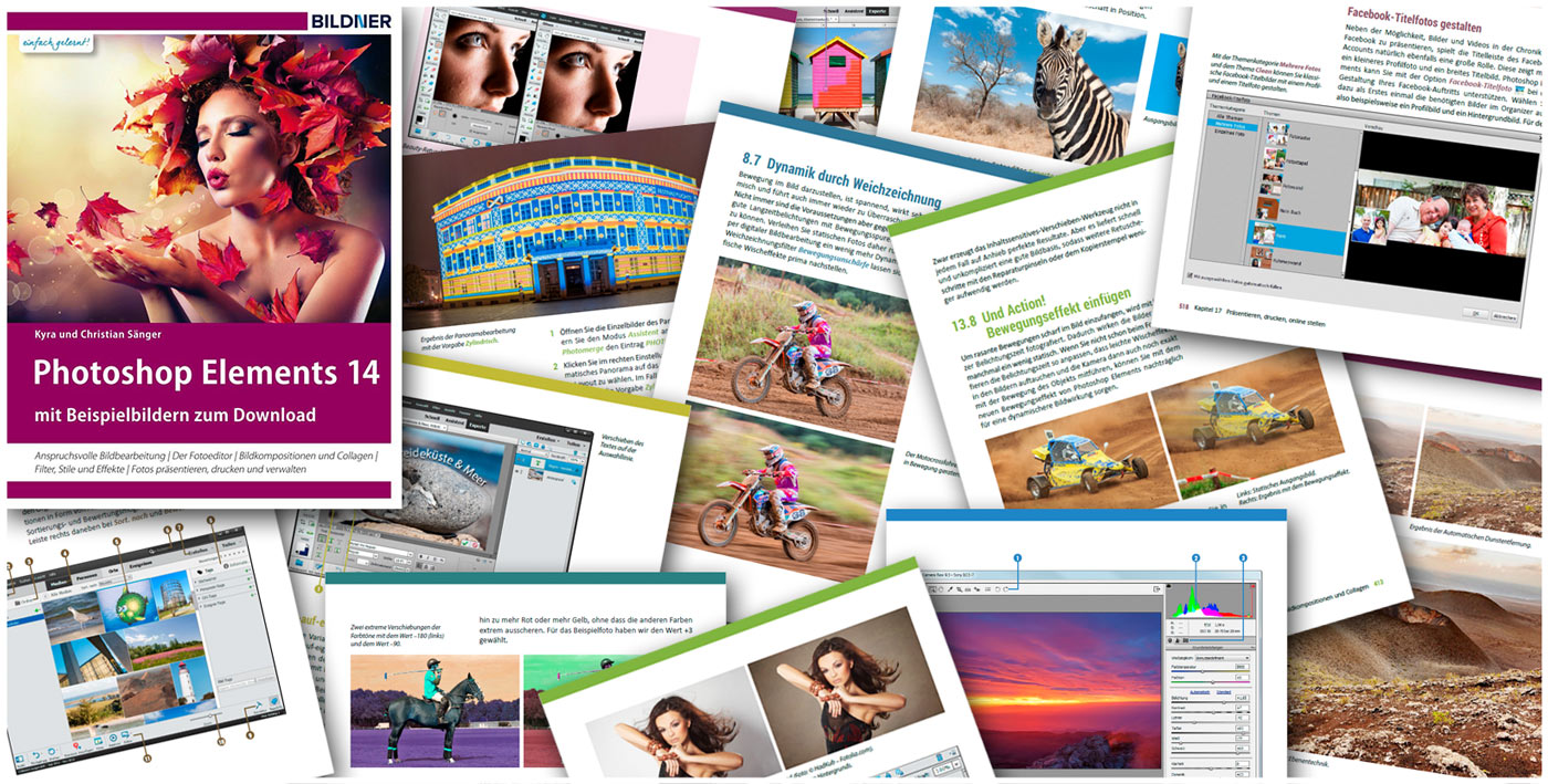 Blick ins Buch: Photoshop Elements 14